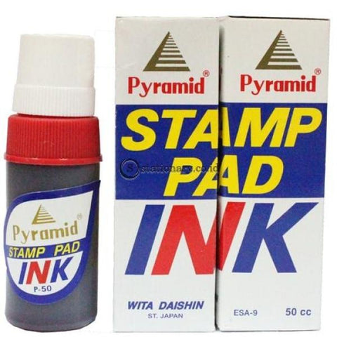 Pyramid Tinta Stamp Pad Ink P-50 Office Stationery