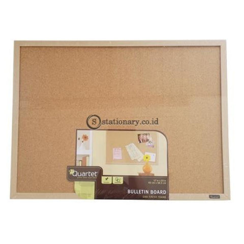 Quartet Bulletin Cork Board Oak Frame 43Cm X 58.5Cm #35-380342Q Office Stationery