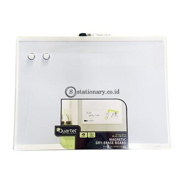Quartet Whiteboard Magnetik White Frame 43Cm X 58.5Cm #58064 Office Stationery