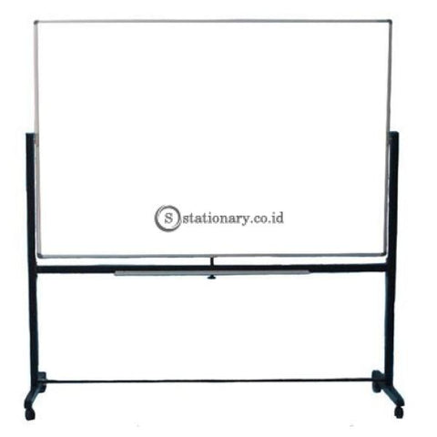 Sakana Papan Whiteboard Kaki Double Face (2 Muka / Bolak Balik) 80 X 120 Cm Office Equipment