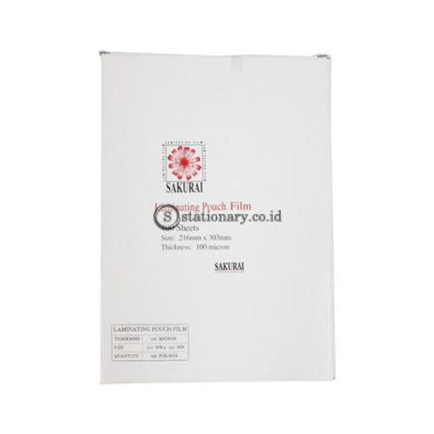 Sakurai Plastik Laminating A4 Office Stationery