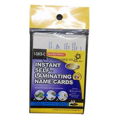 Sanko Plastik Laminating Instant Self Ktp (66X100Mm) I-Sks-C Office Stationery