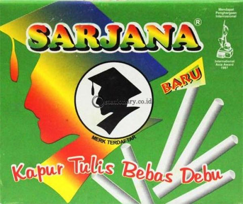 Sarjana Kapur Tulis Putih Office Stationery