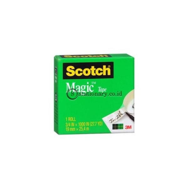 Scothmagic Transparant 3/4 Inch Office Stationery