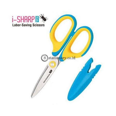 Sdi Gunting Kids Labor Saving Scissors I-Sharp 5 1/4 Inch (135Mm) #0924C Office Stationery