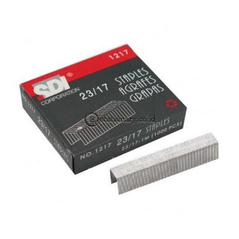 Sdi Isi Staples 23/17 No 1217 Office Stationery