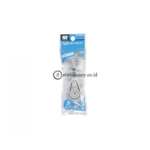 Sdi Refill Tip Ex Kertas Correction Tape I-Push Ct-205R (6M) Office Stationery