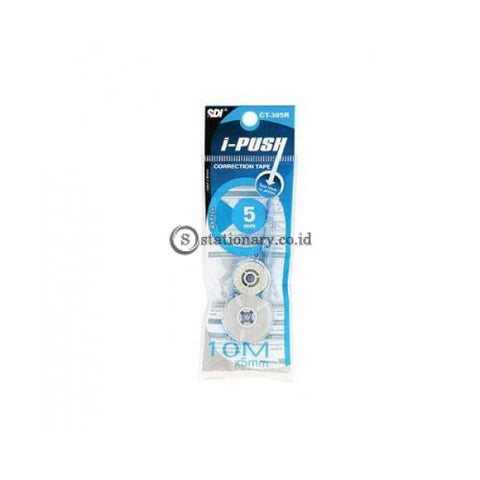 Sdi Refill Tip Ex Kertas Correction Tape I-Push Ct-305R (10M) Office Stationery