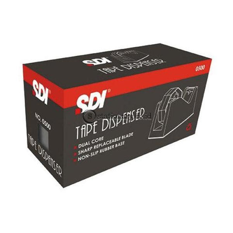 Sdi Tape Dispenser 0500 (Dual Size) Office Stationery