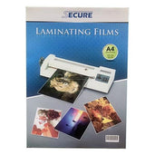 Secure Plastik Laminating Film 100 Micron A4 (220X307Mm) Office Stationery