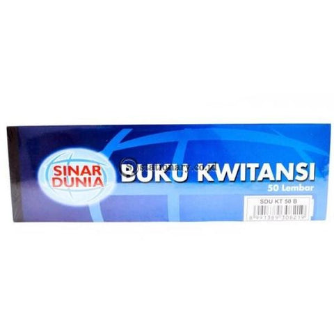 Sinar Dunia Buku Kwitansi Besar Office Stationery
