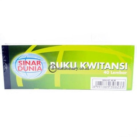 Sinar Dunia Buku Kwitansi Kecil Office Stationery