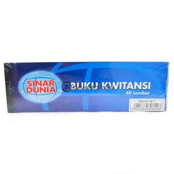 Sinar Dunia Buku Kwitansi Sedang Office Stationery