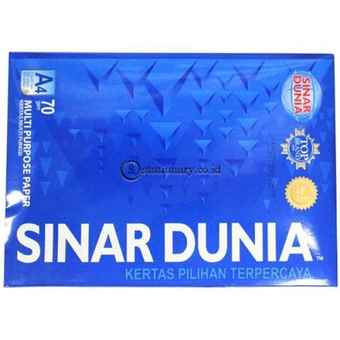 Sinar Dunia Kertas Hvs A4 70 Gsm All Purpose Office Stationery