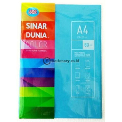 Sinar Dunia Kertas Warna A4 80Gram It 130 - Lagoon Office Stationery