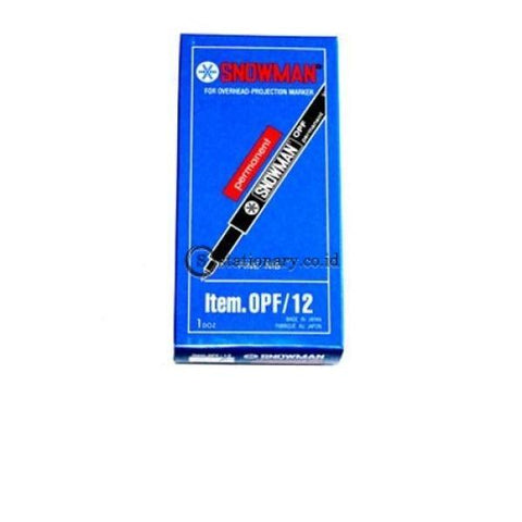 Snowman Ohp F Office Stationery