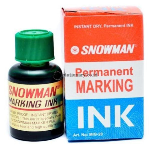 Snowman Refill Spidol Permanent Marker Mig-20 Office Stationery