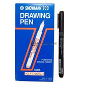 Snowman Spidol Drawing Pen Ft700 Office Stationery