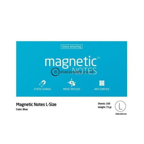 Tesla Amazing Magnetic Notes L (200x100mm) Light Blue