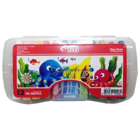 Titi Crayon 12 Warna Tj-P-12S Office Stationery