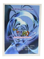 Toho Plastik Laminating Ktp 250Micron Office Stationery