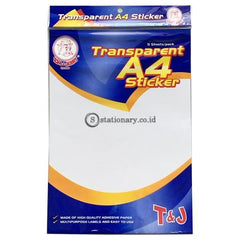 Tom & Jerry Label Stiker Transparent A4