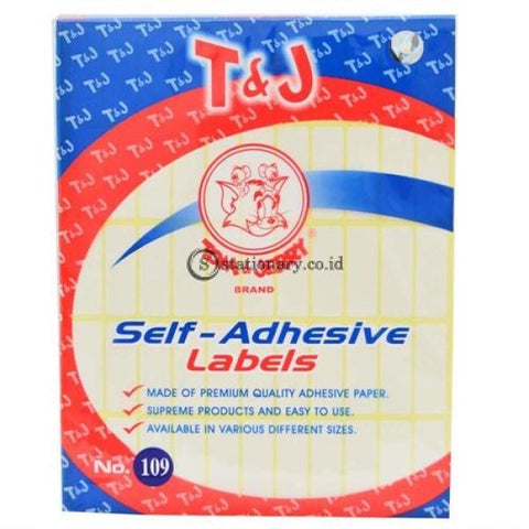 Tom & Jerry Self Adhesive Label Stiker No 109 Office Stationery