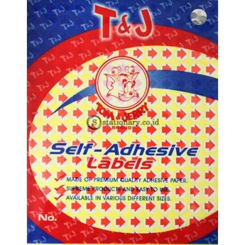 Tom & Jerry Self Adhesive Label Stiker Tanda Panah No 130 Office Stationery