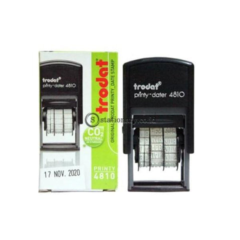 Trodat Stempel Tanggal Printy Dater 4810 Office Stationery