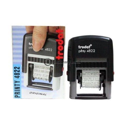 Trodat Stempel Text Printy Dater 4822 Office Stationery