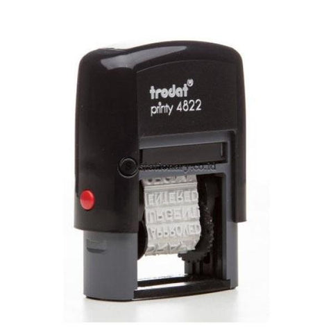 Trodat Stempel Text Printy Dial A Phrase Stamp #4822