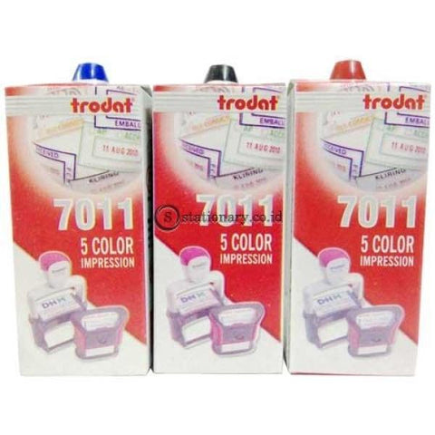 Trodat Tinta Stempel 7011 Merah Office Stationery