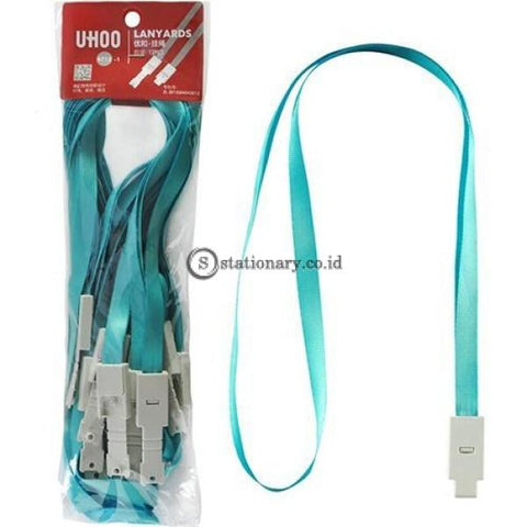Uhoo Tali Id Card Lanyards (Pack 12Pcs) #6712 Office Stationery