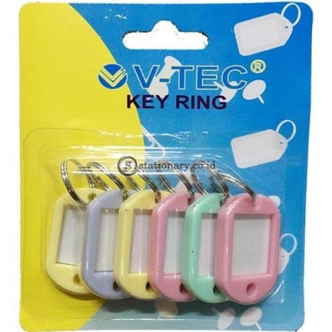 V-Tec Gantungan Kunci Key Ring Vt-1004 Office Stationery
