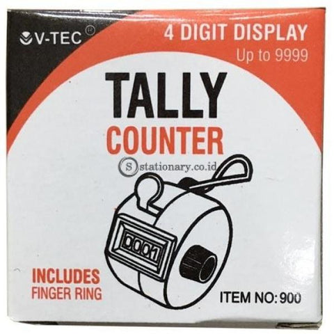 V-Tec Hand Tally Counter No.900 Office Stationery