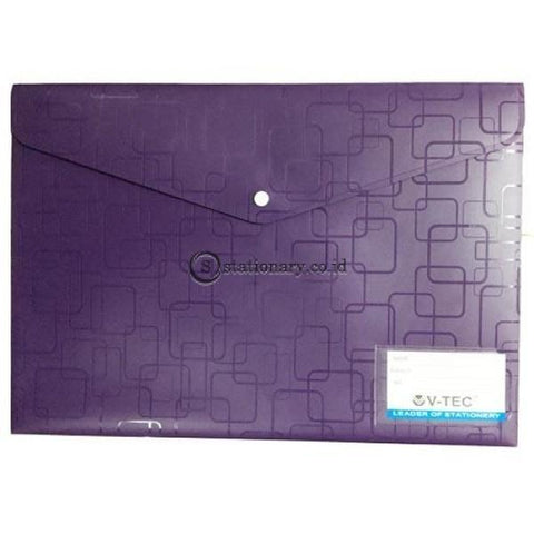 V-Tec Map Kancing Clear Bag A3 W-209N Office Stationery