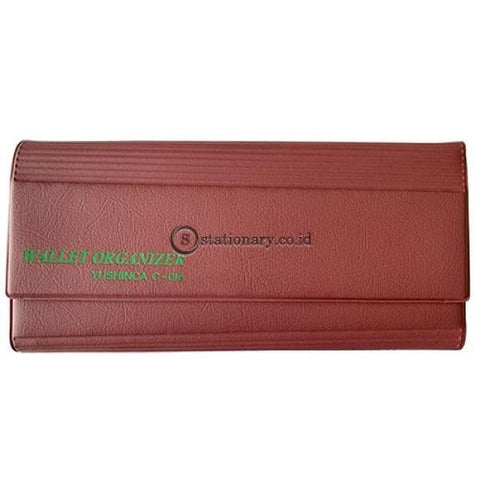 Yushinca Cheque Giro Keeper Magnet Expanding File For Check C-016 Merah Office Stationery