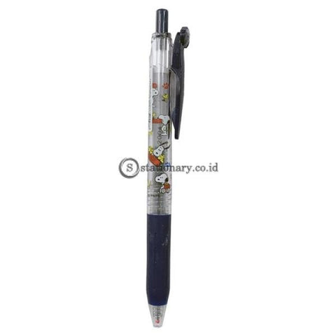 Zebra Sarasa Snoopy 0.4mm Pen Black Blue