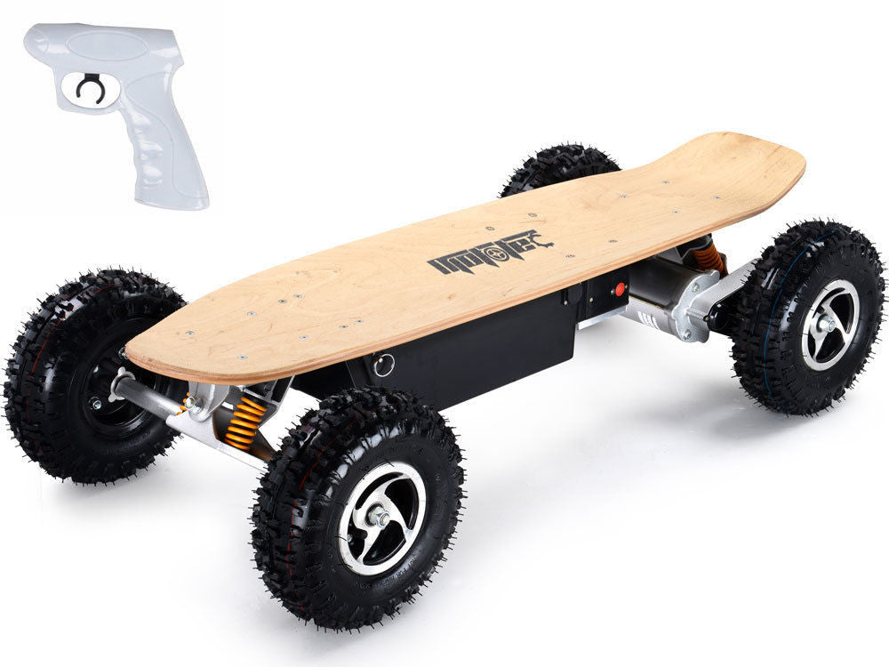 MotoTec 1600w Dirt Electric Skateboard DUAL MOTORS- MT-SKT-1600
