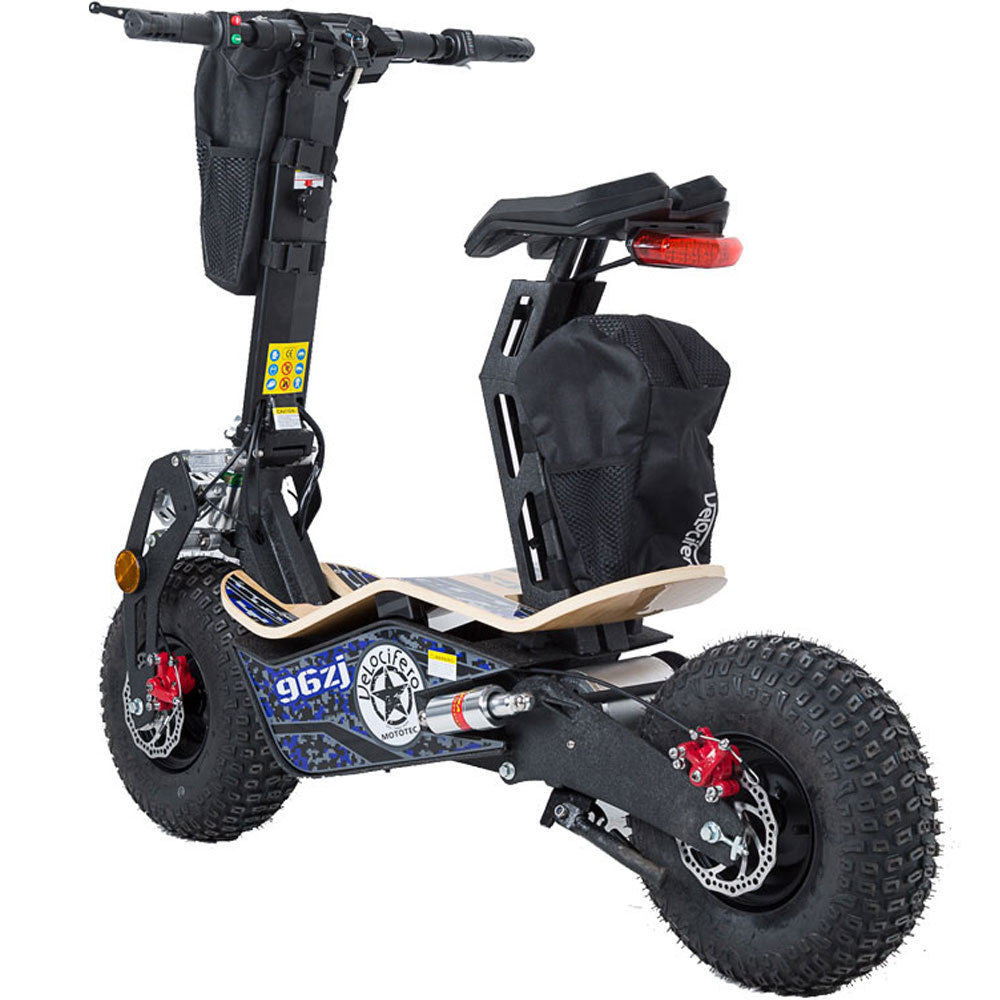 Mototec Mad Electric Scooter 1600w Motor 48v Battery BIG FAST FAT TYRES - NEW