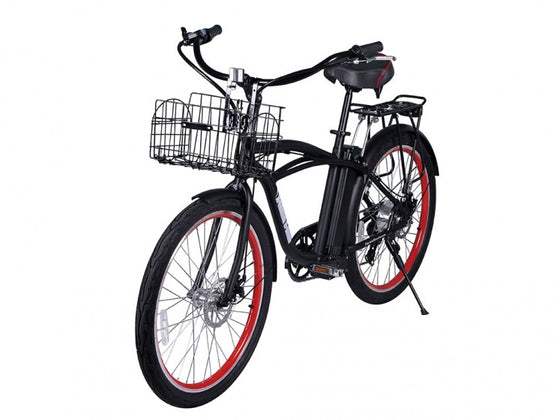 Newport Electric Beach Cruiser Bicycle E-Bike EV X-treme Mountainbike Battery