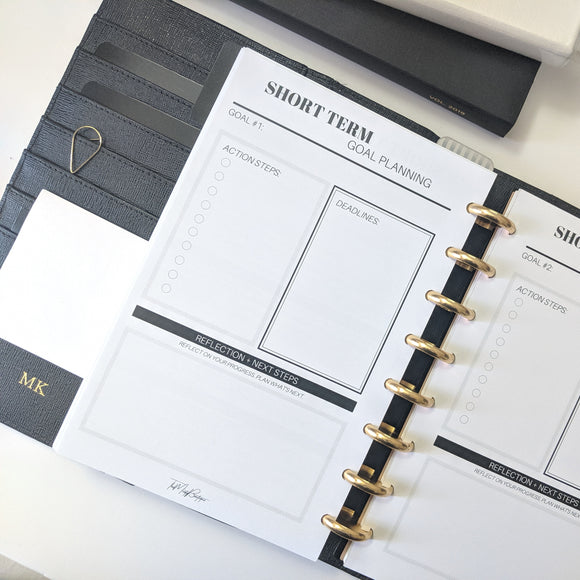 Short Term Goal Planning Bundle