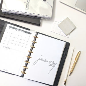 2020 Monthly Agenda | Cover Pages