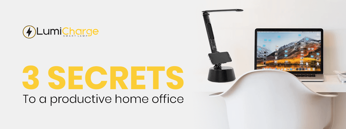 3 Secrets to a Productive Home Office