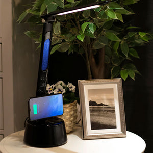 LumiCharge - T2W-- LED Lamp, Bluetooth Speaker & Wireless Phone Charger