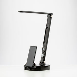 LumiCharge II- All in One LED Desk Lamp ,10W Wireless Charger and Universal Phone Charger & More