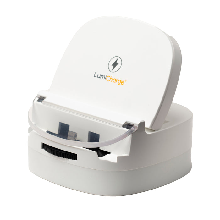 Lumicharge-UD-Universal Phone Dock with Fast Wireless Charger