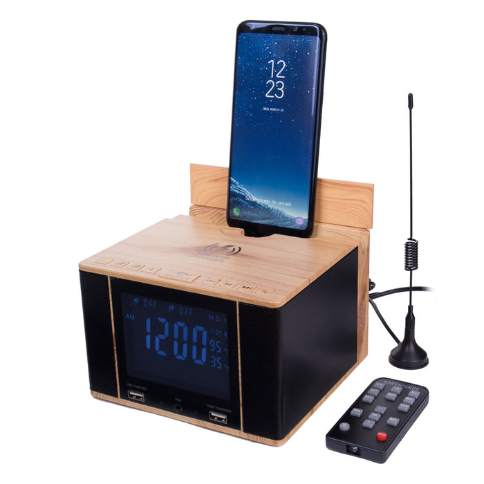 SonicCharge-Bluetooth Speaker+Wireless Charger+Universal Phone Charger and More
