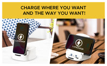 Load image into Gallery viewer, Lumicharge-UD- Fast Qi Wireless Charger Stand