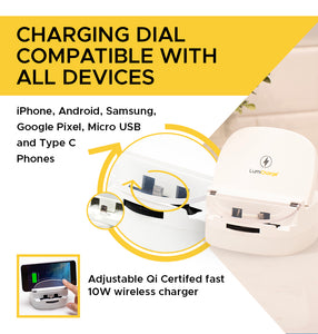 Lumicharge-UD- Fast Qi Wireless Charger Stand